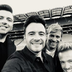 Welcome back for Westlife! Photo: Twitter/@westlifemusic