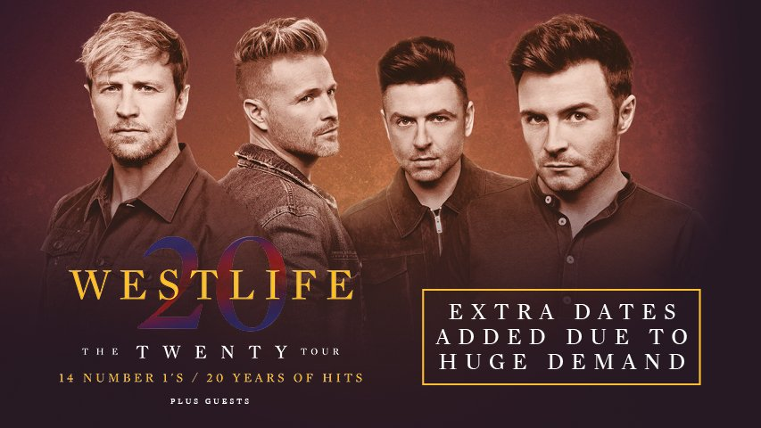 Westlife Twenty Tour